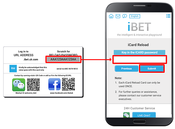 Deposit iCARD-step 4