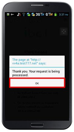 Deposit iCARD-step 5
