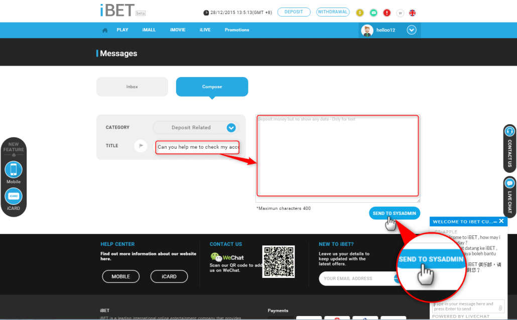 How New iBET Version Help Me to Solve My Problem-6